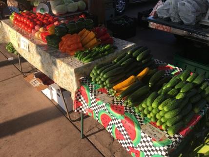 Market Table Photo